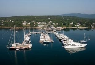 Dysarts Great Harbor Marina SW Maine