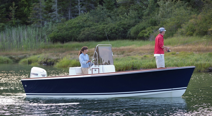 Gallery maine built boats for Boat fishing near me