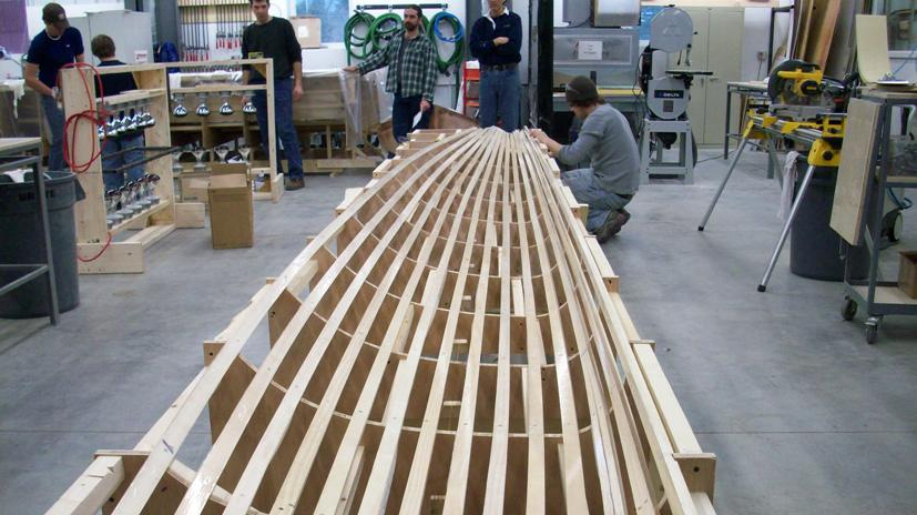 BuildingMolds at the landing school