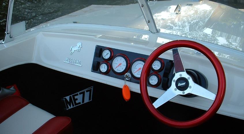 NE Fiberglass steering wheel gal
