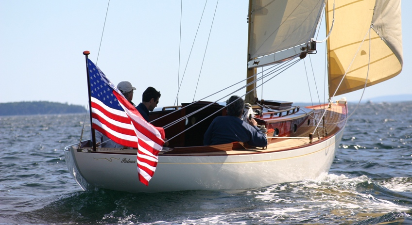 palma under sail